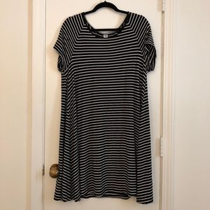 Striped t-shirt dress - OLD NAVY